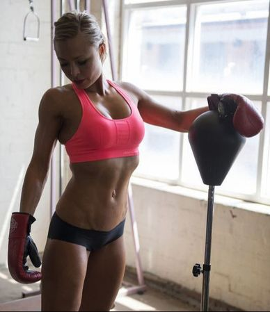 female fitness photography